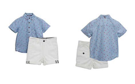 Sovereign Code Boys' Lobster-Print Shirt & Shorts Set - Baby - Bloomingdale's_2