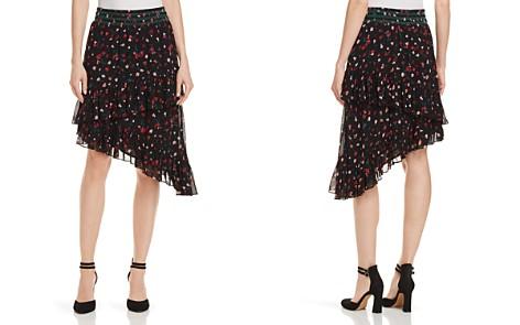 Joie Gorowen Floral-Print Silk Skirt - Bloomingdale's_2