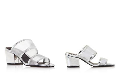 Sol Sana Women's Keira Leather & Mesh Block Heel Mules - 100% Exclusive - Bloomingdale's_2