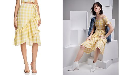 Red Carter Luclia Midi Wrap Skirt - Bloomingdale's_2