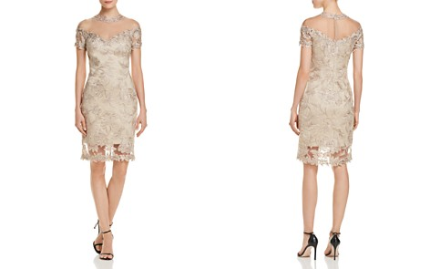 Tadashi Shoji Illusion Lace Dress - 100% Exclusive - Bloomingdale's_2