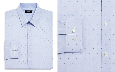 Theory Micro Stripe and Geometric Dot Slim Fit Dress Shirt - Bloomingdale's_2