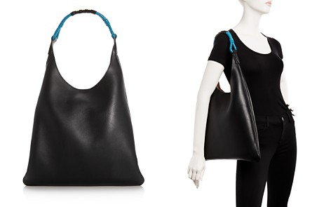 Marni Slim Leather Hobo - Bloomingdale's_2