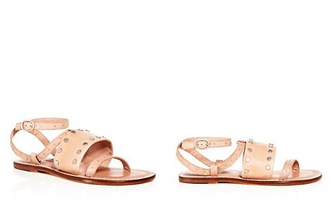 Bernardo Women's Studded Leather Ankle Strap Sandals - Bloomingdale's_2