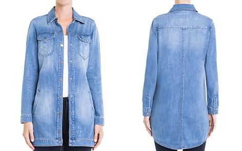 Liverpool Denim Long Shirt Jacket - Bloomingdale's_2