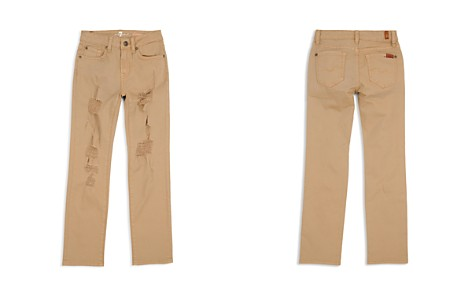 7 For All Mankind Boys' Distressed Twill Pants - Little Kid, Big Kid - Bloomingdale's_2
