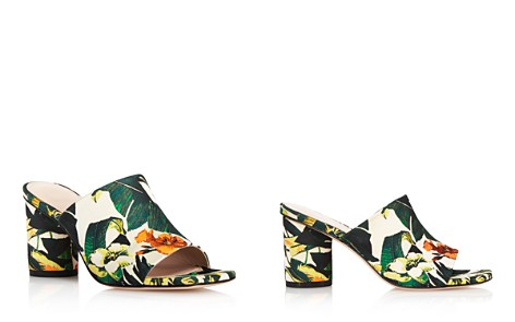 Stuart Weitzman Women's Slideon Floral Print High-Heel Slide Sandals - Bloomingdale's_2