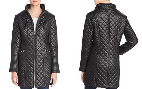 Via Spiga Diamond-Quilted Zip Coat - Bloomingdale's_2