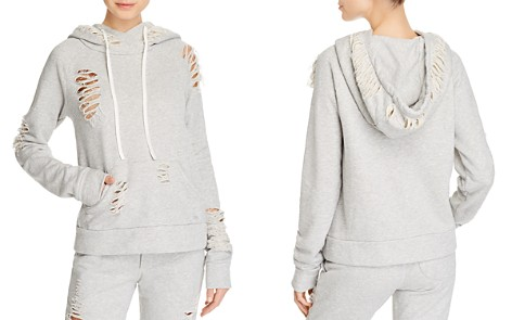 Alo Yoga Distressed Hooded Sweatshirt - Bloomingdale's_2
