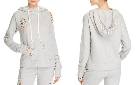 Alo Yoga Distressed Hooded Sweatshirt - Bloomingdale's_2