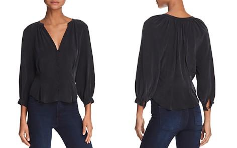Joie Bitina Silk Shirt - Bloomingdale's_2