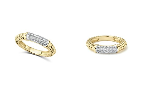 LAGOS Caviar Gold Collection 18K Gold & Diamond Ring - Bloomingdale's_2
