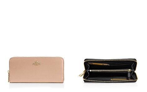 COACH Slim Continental Leather Zip Wallet - Bloomingdale's_2