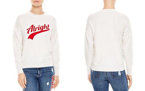 """Sandro Ola Wool & Cashmere """"Alright"""" Graphic Sweater - Bloomingdale's_2"""