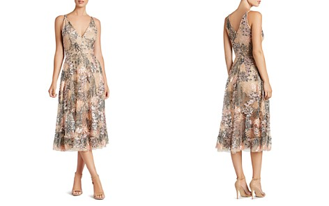 Dress the Population Audrey Embroidered Dress - Bloomingdale's_2
