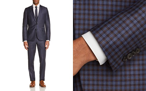 Paul Smith Novelty Check Slim Fit Suit - Bloomingdale's_2
