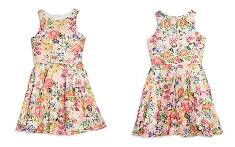 Pippa & Julie Girls' Floral Lace Sequin Skater Dress - Big Kid - Bloomingdale's_2