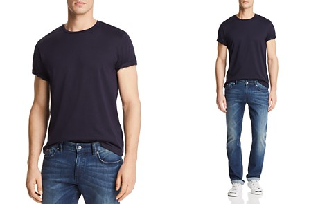 The Men's Store at Bloomingdale's Pima Cotton Crewneck Tee - 100% Exclusive_2
