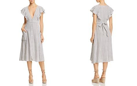 Lost + Wander Kika Ruffled Striped Midi Dress - Bloomingdale's_2