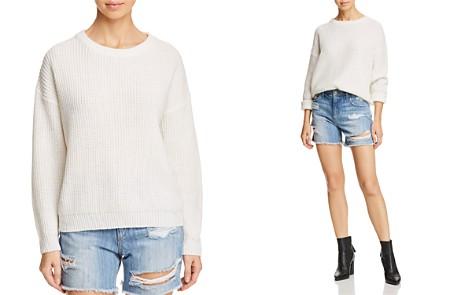 Lost + Wander Blanco Waffle-Knit Back Cutout Sweater - Bloomingdale's_2