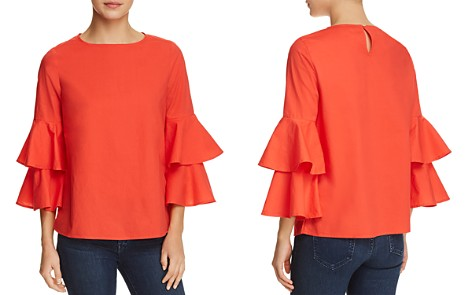 BeachLunchLounge Tiered Bell Sleeve Top - Bloomingdale's_2
