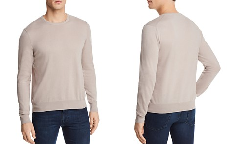 The Men's Store at Bloomingdale's Cotton Blend Crewneck Sweater - 100% Exclusive_2