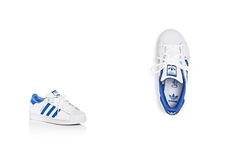 Adidas Unisex Superstar Embossed Leather Lace Up Sneakers - Toddler, Little Kid - Bloomingdale's_2