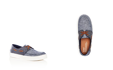 TOMS Boys' Culver Chambray & Denim Slip-On Boat Shoes - Toddler, Little Kid, Big Kid - Bloomingdale's_2