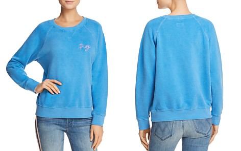 MOTHER The Square Embroidered Sweatshirt - 100% Exclusive - Bloomingdale's_2