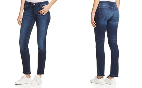 DL1961 Coco Curvy Slim Straight Jeans in Parsons - Bloomingdale's_2
