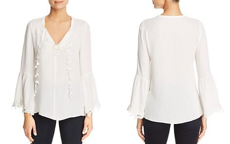 Kobi Halperin Eda Appliquéd Silk Top - 100% Exclusive - Bloomingdale's_2