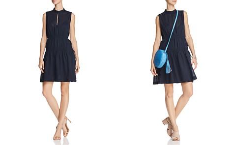 Derek Lam 10 Crosby Shirred Drawstring Dress - Bloomingdale's_2