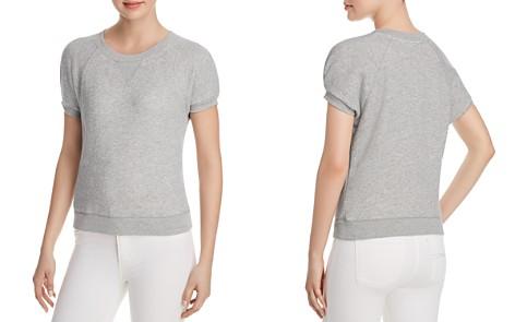Joie Christa Short-Sleeve Sweatshirt - Bloomingdale's_2