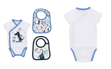 Little Marc Jacobs Boys' Dragon Bodysuit & Terry Bib Set - Baby - Bloomingdale's_2