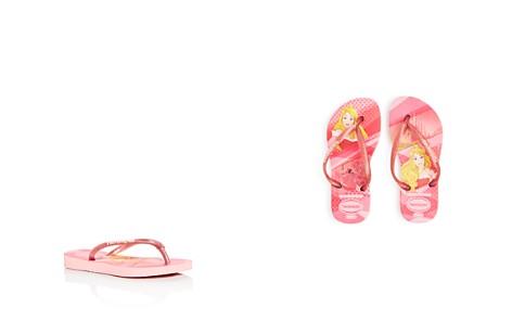 havaianas Girls' Princess Glitter Slim Flip-Flops - Walker, Toddler, Little Kid - Bloomingdale's_2