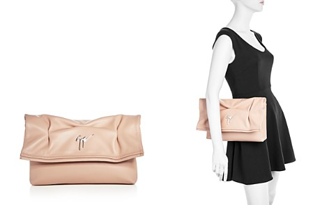 Giuseppe Zanotti Large Leather Clutch - 100% Exclusive - Bloomingdale's_2