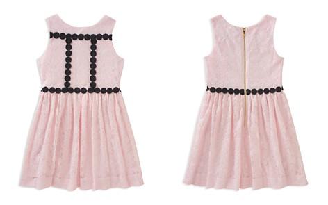 kate spade new york Girls' Sleeveless Floral Mesh Dress - Big Kid - Bloomingdale's_2