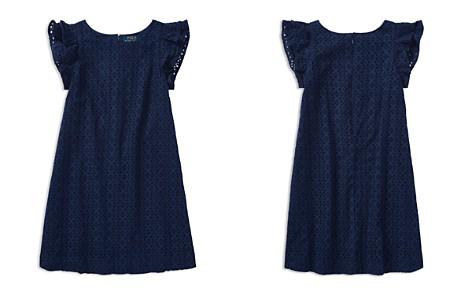 Polo Ralph Lauren Girls' Flutter-Sleeve Eyelet Dress - Big Kid - Bloomingdale's_2