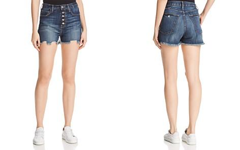 Current/Elliott The Ultra High-Waist Denim Shorts in Belloc - Bloomingdale's_2
