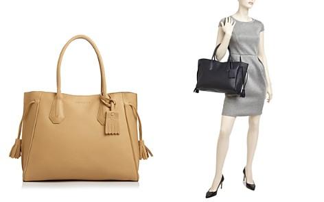 Longchamp Penelope Leather Shoulder Tote - Bloomingdale's_2