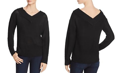 AQUA V-Back Tunic Sweater - 100% Exclusive - Bloomingdale's_2