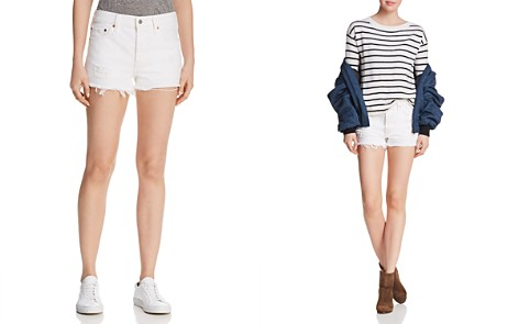 Levi's 501 Denim Shorts in Super Sonic - Bloomingdale's_2