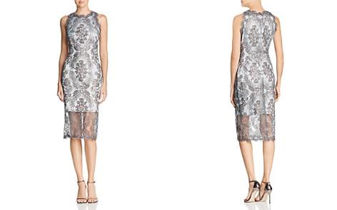 Tadashi Shoji Corded Tulle Dress - Bloomingdale's_2