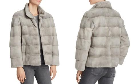 Maximilian Furs Mink Fur Stand Collar Coat - Bloomingdale's_2