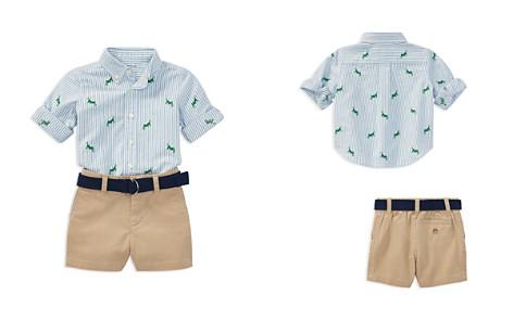 Ralph Lauren Boys' Grasshopper Oxford Shirt, Chino Shorts & Belt Set - Baby - Bloomingdale's_2