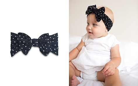 Baby Bling Infant Girls' Dotted Bow Headband - Bloomingdale's_2