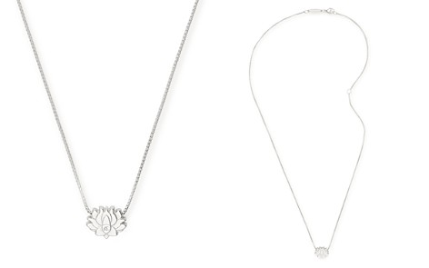 """Alex and Ani Lotus Pendant Necklace, 18"""" - Bloomingdale's_2"""