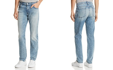 7 For All Mankind Adrien Luxe Sport Slim Fit Jeans in Authentic Sonar - Bloomingdale's_2
