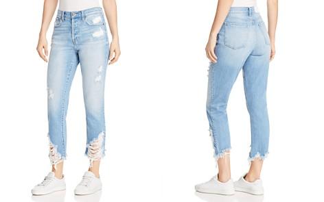 Pistola Charlie Distressed Straight-Leg Jeans in Rumor Has It - Bloomingdale's_2
