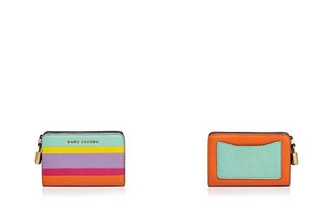 MARC JACOBS The Grind Color-Blocked Compact Wallet - Bloomingdale's_2